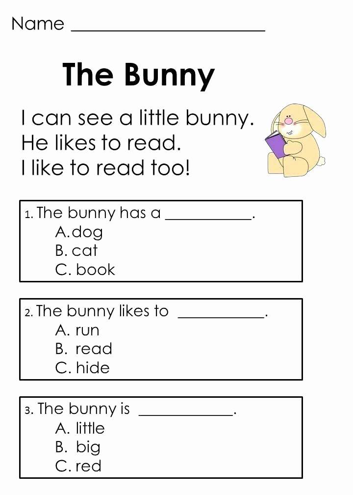 Free Worksheet for Kindergarten Reading and Kindergarten English Worksheets Best Coloring Pages for Kids