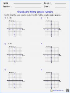 Graphing Inequalities On A Number Line Worksheet and Graphing Inequalities A Number Line Worksheet