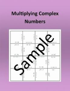 Multiplying Complex Numbers Worksheet Of Exponential Equations Requiring Logarithms Worksheets