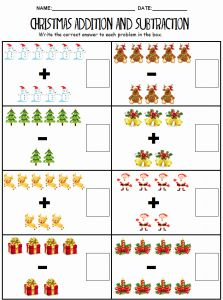 Christmas Activity Sheets or Wonderland Crafts Activity Sheets