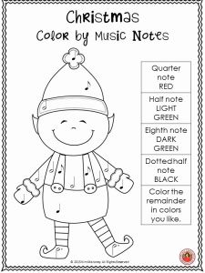 Christmas Coloring Worksheet Pdf then 5133 Best Music Class Resources Images On Pinterest