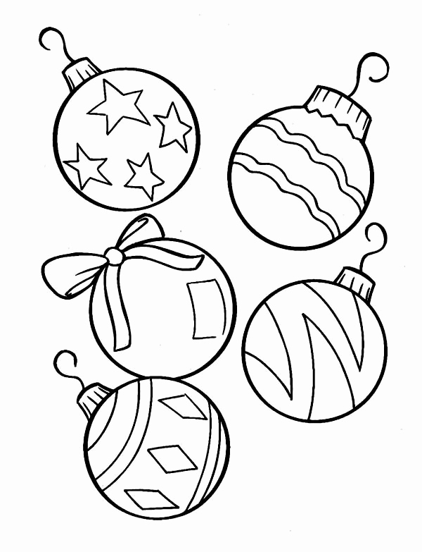 Christmas Light Bulb Coloring Page Of Clipart Panda Free Clipart