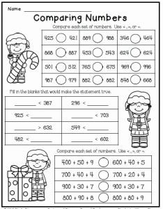 Christmas Reading Worksheets 2nd Grade and Christmas Freebie Print and Go