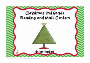 Christmas Reading Worksheets 2nd Grade or Christmas 2nd Grade Reading and Math Centers and