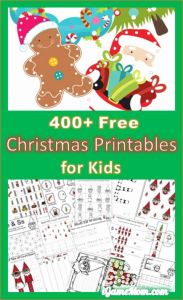 Free Printable Christmas Worksheets Of 400 Free Christmas Learning Printable Activities for Kids