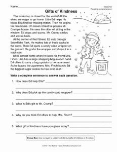 Reading Worksheets Christmas 2 then Christmas Reading P with Images