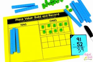 Base Ten Blocks Printable 2 and Place Value Numbers Up to 1 000 In Second Grade