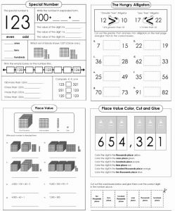 Free Printable Place Value Worksheets and 146 Best Math Super Teacher Worksheets Images On Pinterest