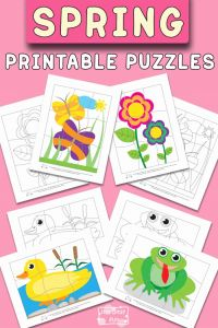 Printable Games for Kids and Spring Printable Puzzles for Kids Itsybitsyfun