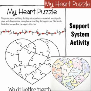 Printable Worksheets social Emotional Of social Emotional Learning Activities for February by social Emotional Workshop