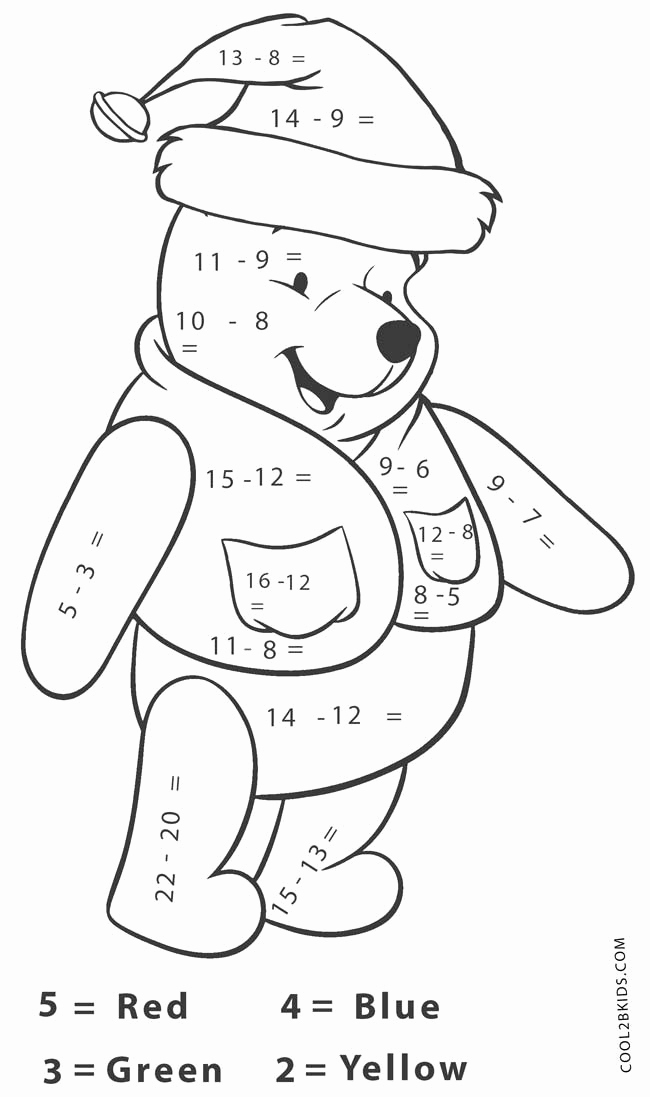 Christmas Multiplication Coloring Worksheets and Christmas Multiplication Color by Number Sketch Coloring Page