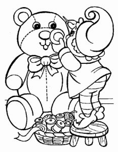 Free Printable Christmas Coloring Pages Of Christmas Kids Coloring Pages