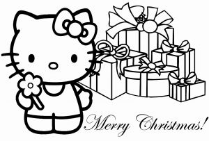 Free Printable Christmas Coloring Pages Of Hello Kitty Christmas Coloring Sheets