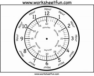 Learn Clocks Worksheet Printable then Time – Printable Clock Face – 3 Worksheets Free