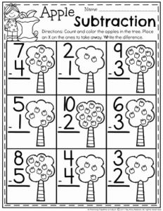 Fun Subtraction Worksheet Printable Of Subtraction Worksheets Planning Playtime