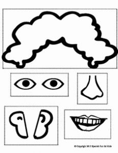 Body Worksheets Printable Kindergarten Coloring then 12 Best Of My Face Worksheet Preschool Face Parts Printables Cut and Paste Body Parts