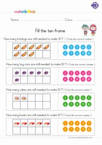 Free Printable Worksheets for Kids Number or Numbers and Counting Worksheets for Grade 1