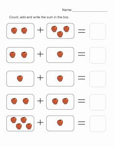 Math Printables and Picture Math Worksheets to Print