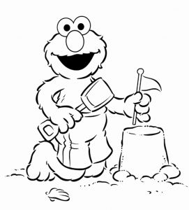 Printable Elmo Coloring Pages for Kids and Print & Download Elmo Coloring Pages for Children's Home Activity