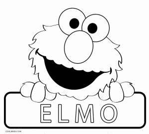 Printable Elmo Coloring Pages for Kids or Printable Elmo Coloring Pages for Kids