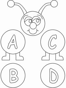 Printable Learning Pages for toddlers Coloring Downloadable Of Free Printable Abc Coloring Pages for Kids