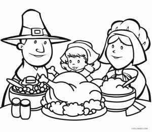 Printable Thanksgiving Coloring Pages or Printable Thanksgiving Coloring Pages for Kids