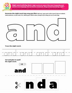 They Sight Word Worksheet Printable or Pin by 5 to Thrive On Sight Word Printables and More