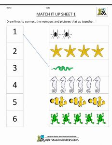 Easy Worksheets for Kindergarten Math for Free Of Worksheets for Playgroup Students Google Search