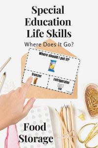 Life Skills Worksheets for High School and Special Education Life Skills In 2020