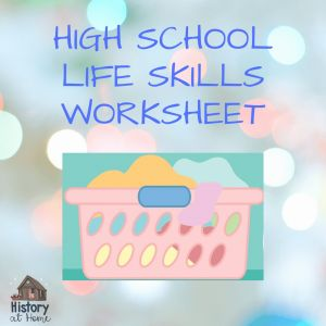 Life Skills Worksheets for High School or High School Life Skills Worksheet Free for 9 12th Grades & Homeschool