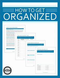 Life Skills Worksheets for Highschool Students then How to Get organized Worksheets for Students